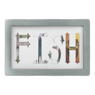 Dymond Speers FISH  BELT BUCKLES