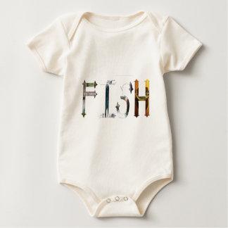 Dymond Speers FISH BODYSUITS