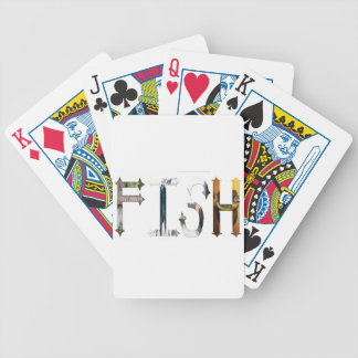 Dymond Speers FISH  POKER CARDS