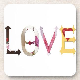 Dymond Speers LOVE BEVERAGE COASTERS