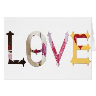 Dymond Speers LOVE GREETING CARD