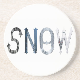 Dymond Speers SNOW BEVERAGE COASTER