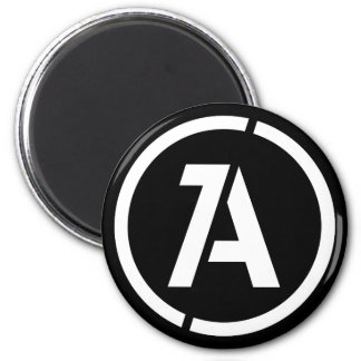 Dynamic Anarchy Symbol Magnet