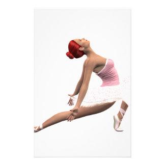 Dynamic Ballet Move Stationery