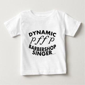 Dynamic Barbershop Singer Baby T-Shirt
