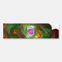 dynamic, connections, abstract, art, bumper, sticker, Bumper Sticker with custom graphic design