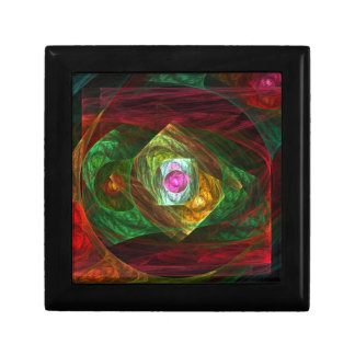 Dynamic Connections Abstract Art Gift Box