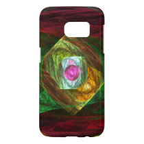 Dynamic Connections Abstract Art Samsung Galaxy S7 Case