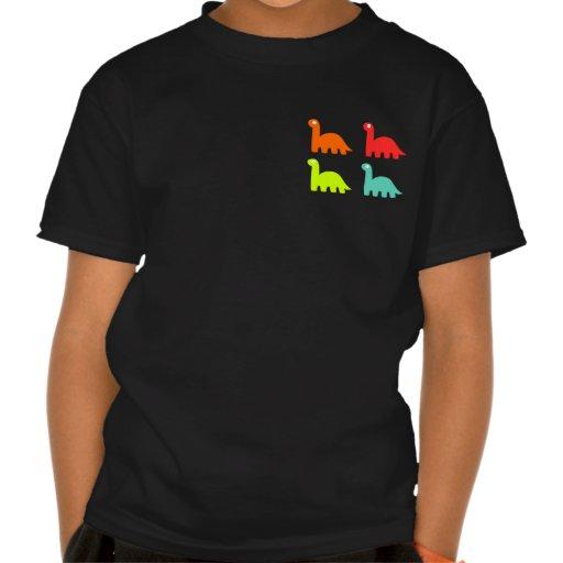 Dynamic Dinos Dark Kids T-Shirt