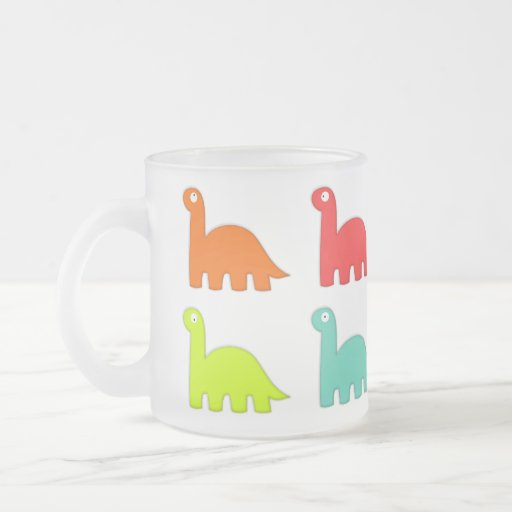 Dynamic Dinos Summer Frosted Mug