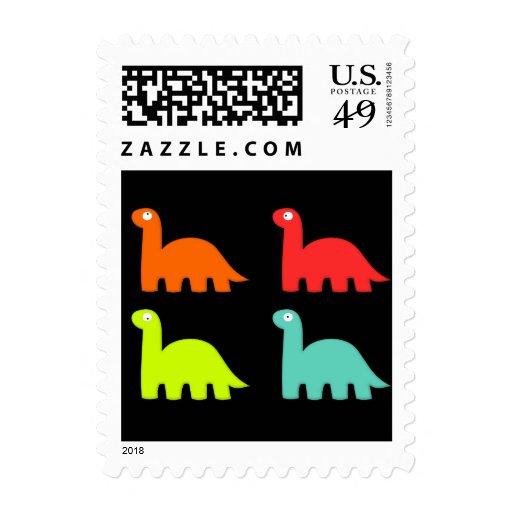 Dynamic Dinos US Postage Stamp