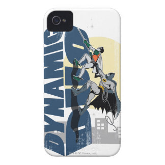 Dynamic Duo Graphic iPhone 4 Cover