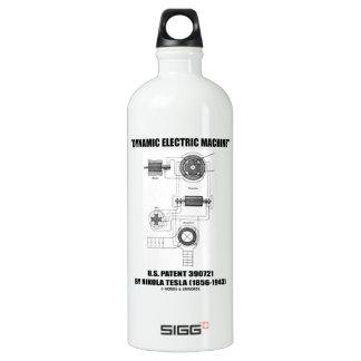 Dynamic Electric Machine U.S. Patent Nikola Tesla SIGG Traveler 1.0L Water Bottle