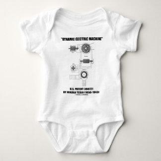 Dynamic Electric Machine US Patent 390721 By Tesla T-shirt
