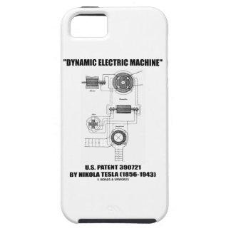 Dynamic Electric Machine US Patent by Nikola Tesla iPhone SE/5/5s Case