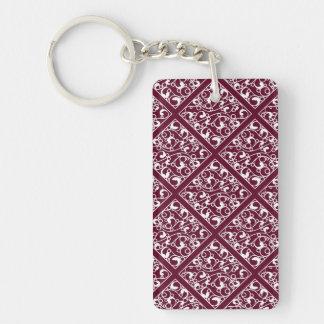 Dynamic Electrifying Brave Sensitive Single-Sided Rectangular Acrylic Keychain
