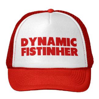 Dynamic Fist in Her Trucker Hat