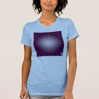 Dynamic Luminance-Gradient Ladies T-shirt