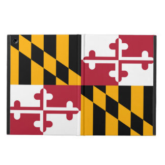 Dynamic Maryland State Flag iPad Air Cases