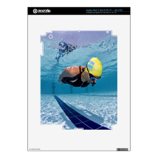 Dynamic No Fins Decals For iPad 3