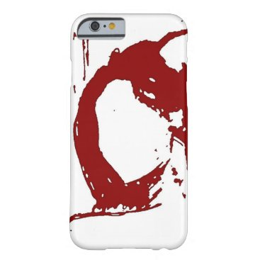 Dynamic red figure barely there iPhone 6 case