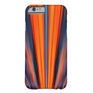 Dynamic retro orange searchlights barely there iPhone 6 case