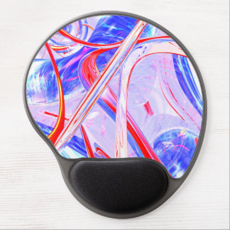 Dynamic Satin Abstract Gel Mouse Mat