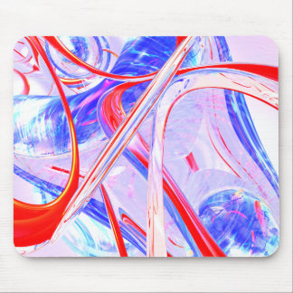 Dynamic Satin Abstract Mouse Pad