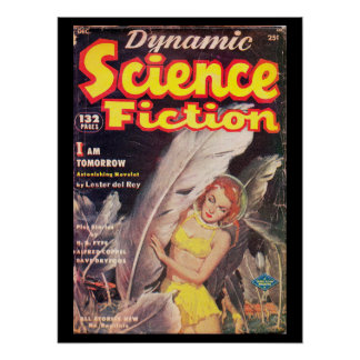 Dynamic Science Fiction v01 n01 (1952-12.Columbia) Poster