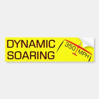 Dynamic Soaring R/C Car Bumper Sticker