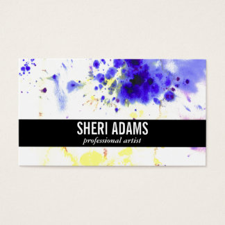 Dynamic | Spatter II Business Card