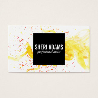 Dynamic | Spatter III Business Card