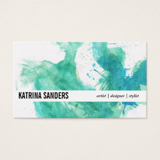 Dynamic | Spatter IV Business Card