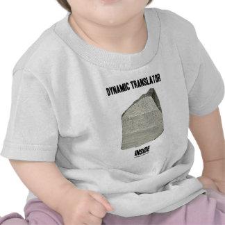 Dynamic Translator Inside Rosetta Stone Tee Shirt