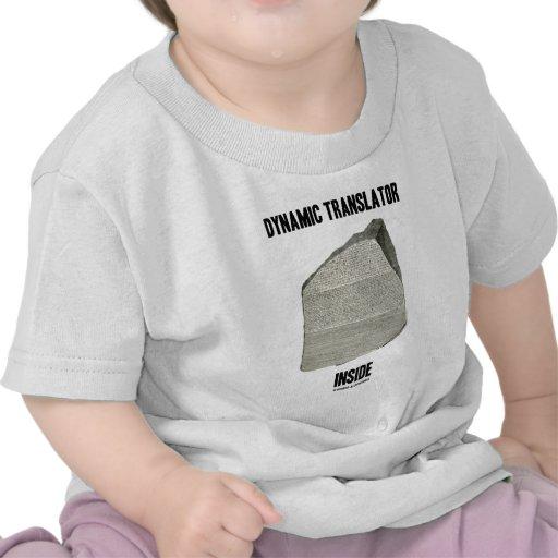 Dynamic Translator Inside (Rosetta Stone) Tee Shirt