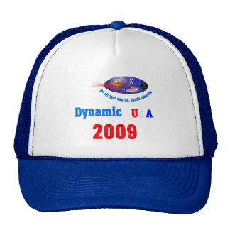 Dynamic USA 2009 Trucker Hat