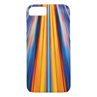 Dynamic yellow light beams iPhone 7 case
