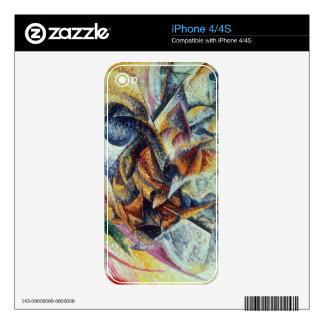 Dynamism of a Cyclist (Dinamismo di un ciclista) 1 Skin For iPhone 4