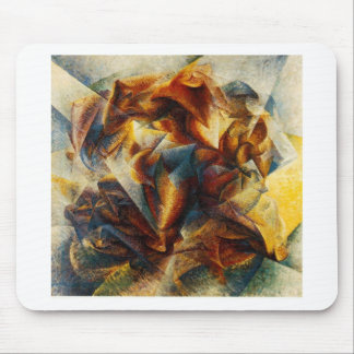 Dynamism of a soccer player by Umberto Boccioni Mouse Pad
