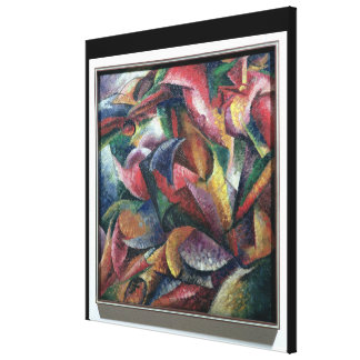 Dynamism of the Body, 1913 (oil on canvas) Canvas Print