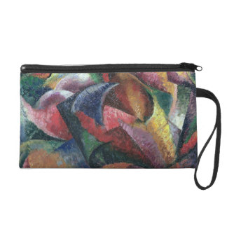 Dynamism of the Body, 1913 (oil on canvas) Wristlet Purse