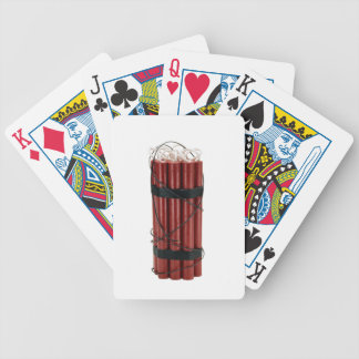 dynamite bicycle playing cards