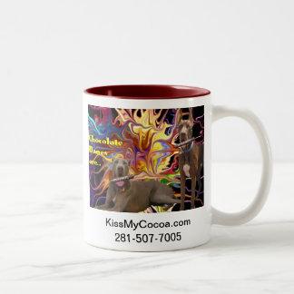 Dynamite Chocolate Danes Two-Tone Coffee Mug