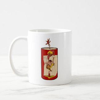 DYNAMITE Customizable Vintage Black Americana Coffee Mug