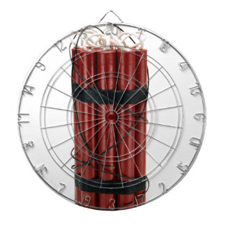 dynamite dartboard with darts