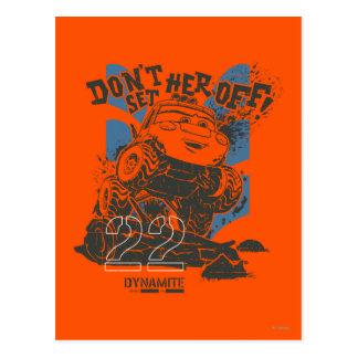 Dynamite Don't Set Her Off! Postcard