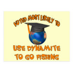 Dynamite Fishing Post Card