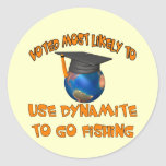 Dynamite Fishing Stickers