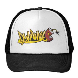 Dynamite Graffiti Art Trucker Hat