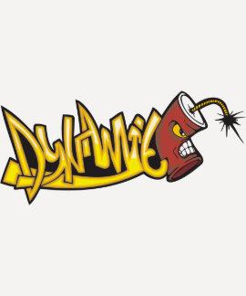 Dynamite Graffiti Art Tshirt